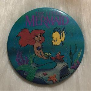 Vintage Little Mermaid Large Pin